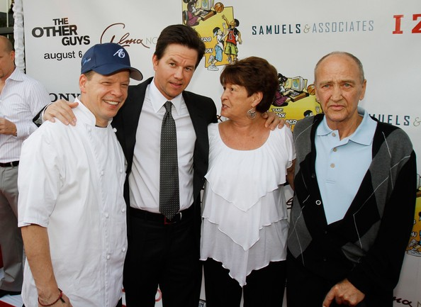 Mark Wahlberg and His Borther Paul Wahlberg