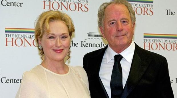 Meryl Streep with her Husband Don Gummer