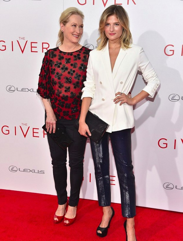 Meryl Streep with her Youngest Daughter Louisa Gummer