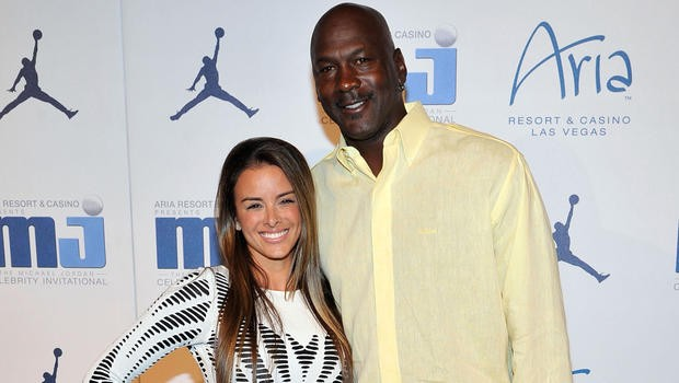 Michael Jordan with wife Yvette Prieto