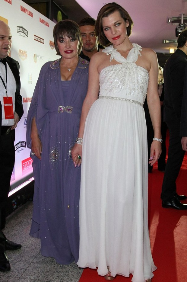 Milla Jovovich and her mother Galina Jovovich