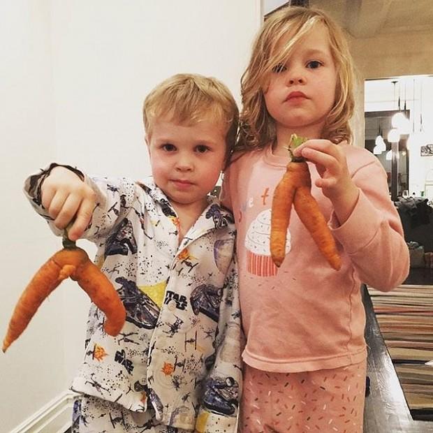 Neil Patrick Harris Kids Gideon and Harper