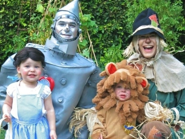 Neil Patrick Harris Halloween Costume with his Kids