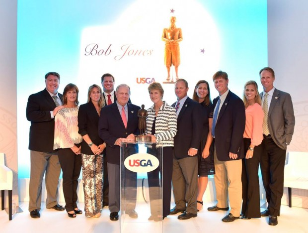 Jack Nicklaus and His Entire Family