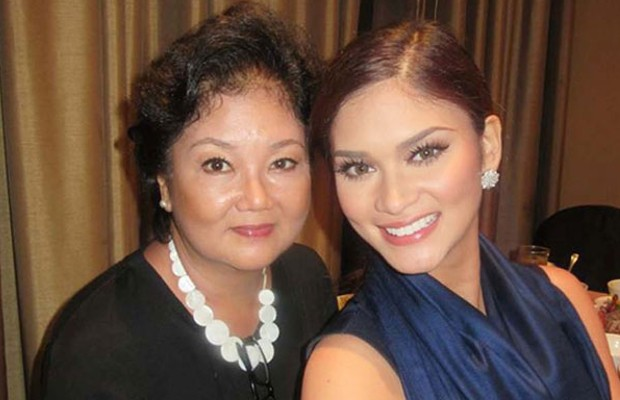Pia Wurtzbach with Her Mother Cheryl Alonzo Tyndall