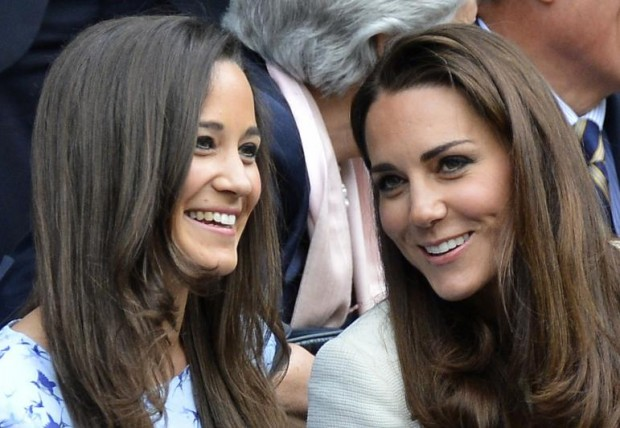 Kate with her Sister Pippa Middleton