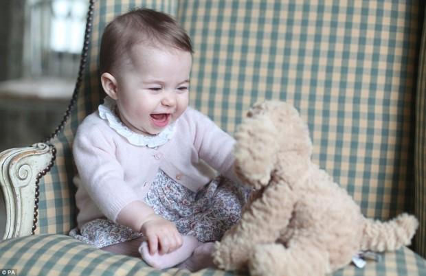 Prince William's Daughter Princess Charlotte