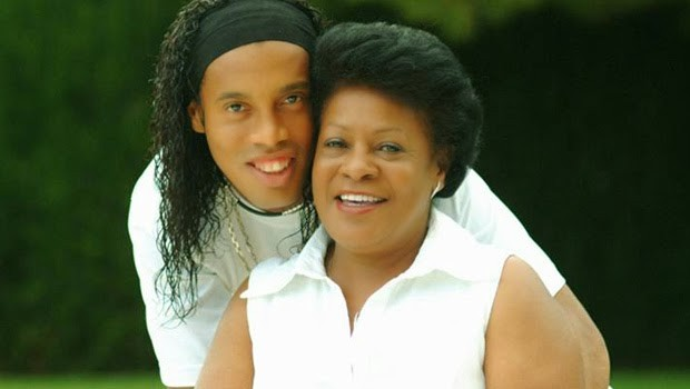 Ronaldinho Mother Dona Miguelina
