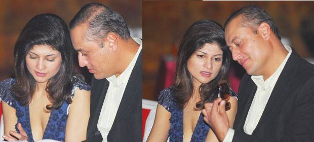 Sabeer and Tania at an Event in Delhi