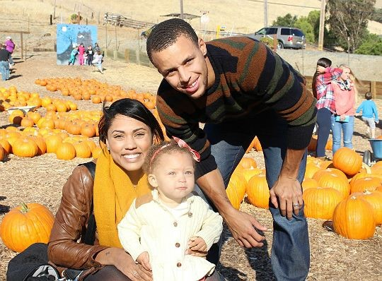 The Stephen Curry Family
