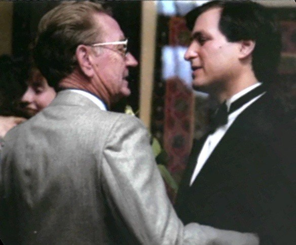 Steve Jobs with His Father Paul Jobs