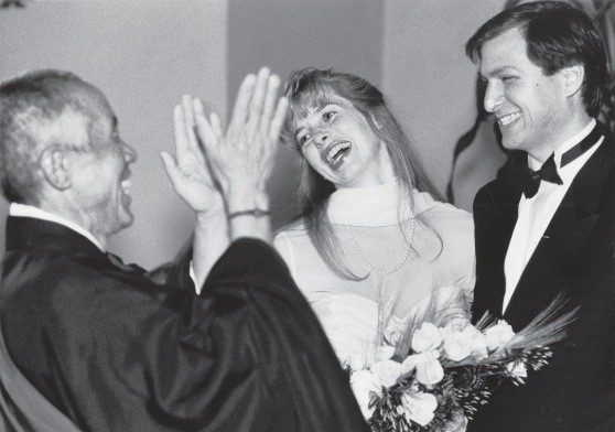 Steve and His wife Lauren