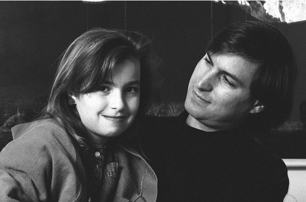 Steve with His Daughter Lisa
