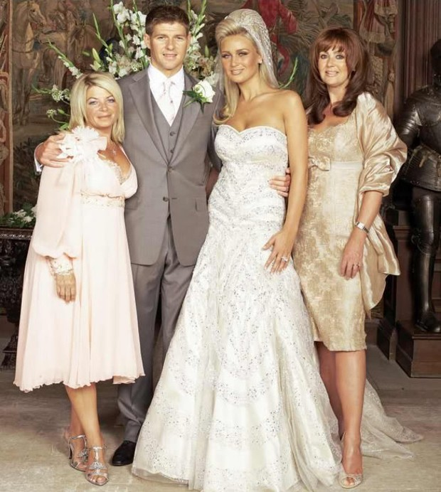 Wedding moments of Steven Gerrard and Alex Curran