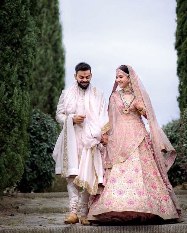 Virat Kohli with His Wife