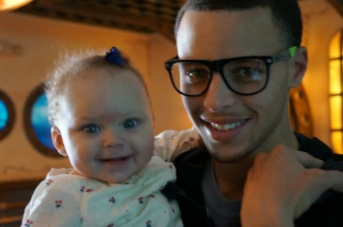 Stephen Curry Baby