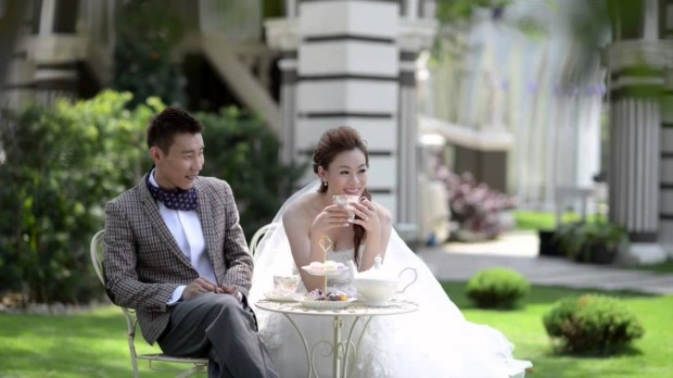 Lee Chong Wei with His Lady of Love Wong Mew Choo
