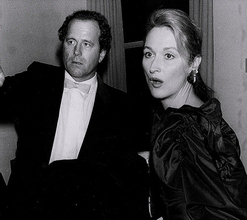Young Meryl and Husband Don Gummer