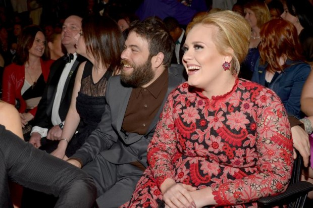 Adele and her boyfriend Simon Konecki