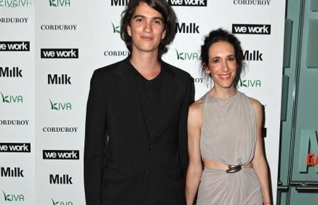 Adam Neumann with his wife Rebekah Paltrow