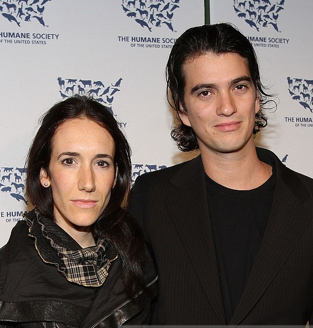 Adam and his wife at Cool Vs Cruel Awards