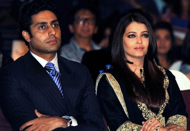 Aishwarya and her husband Abhishek Bachchan