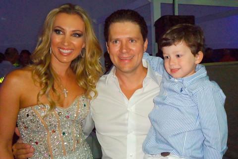 Alexandre Bartelle son Pedro Bartelle and his family