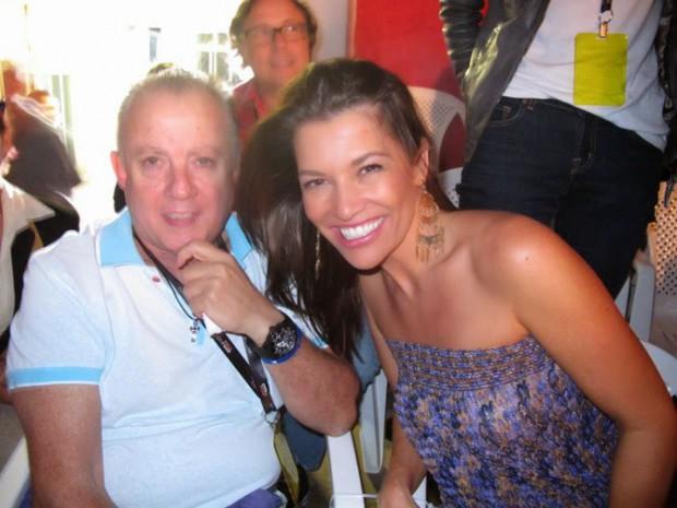 Nora Teixeira and her husband Alexandre Grendene Bartelle