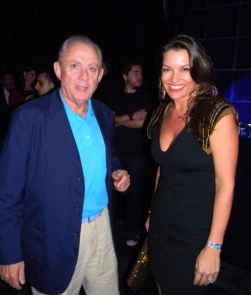Alexandre Grendene Bartelle and his wife Nora Teixeira