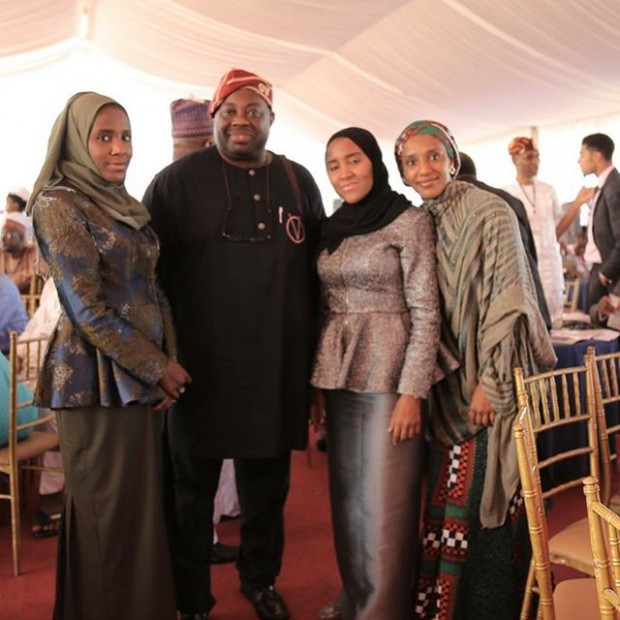 Richest Person of Africa and his daughters