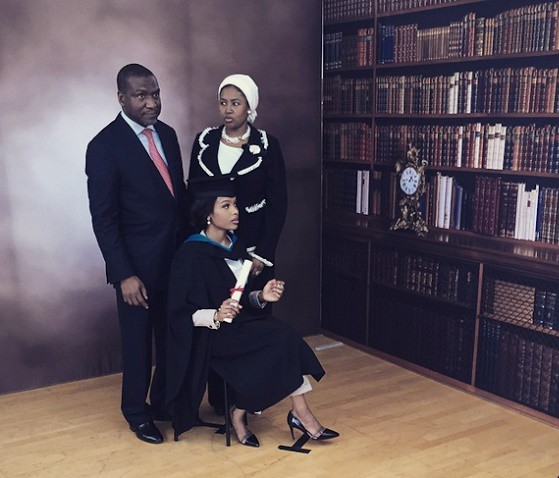 Aliko Dangote daughter Mariya Dantata graduation celebration
