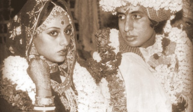 Amitabh on his wedding day