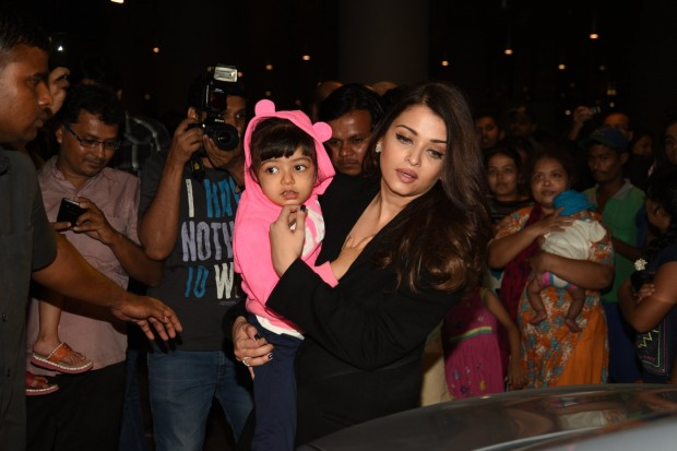 Aishwarya Rai with Her Daughter Aaradhya