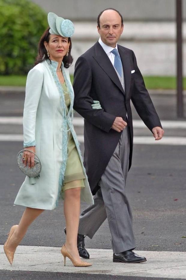 Ana Patricia Botin With Her Husband Guillermo Morenés Mariátegui