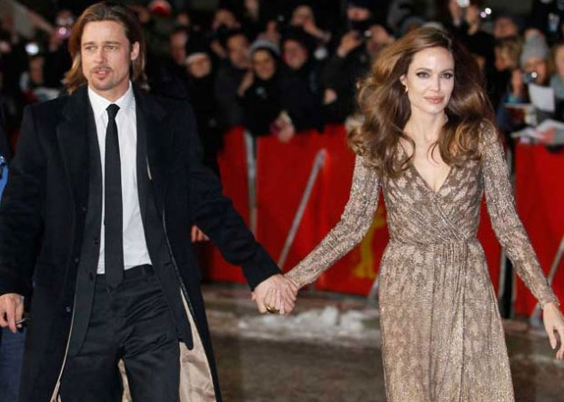 Best Couple of Hollywood Angelina Jolie and Brad Pitt