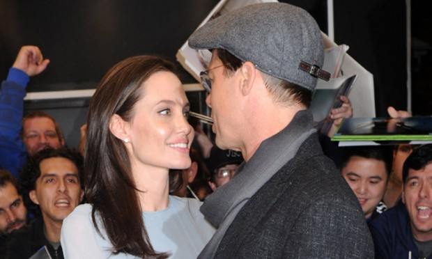 Love Pair Brad and Angelina