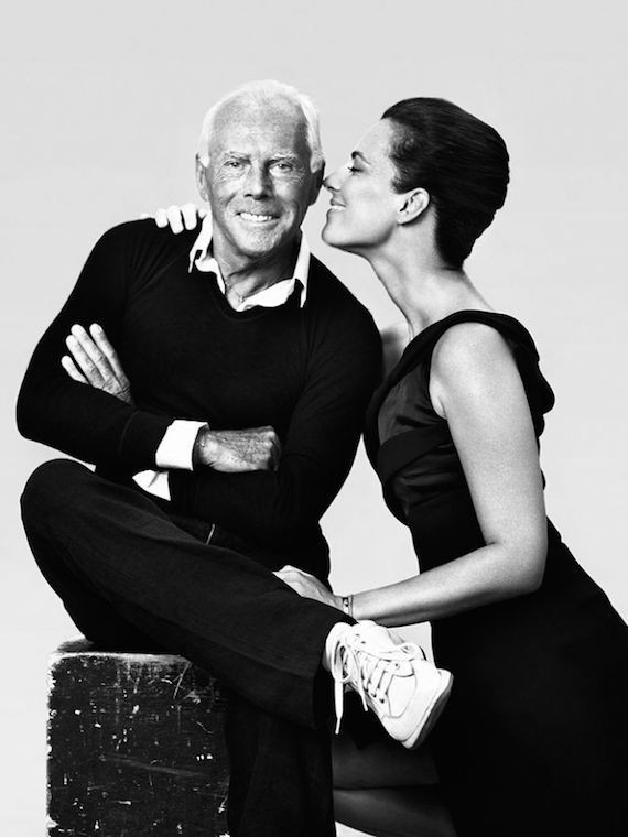 Armani and his Niece Roberta Armani