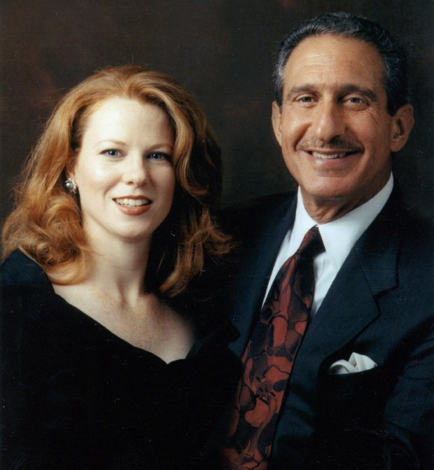 Arthur Blank With His Wife  Stephanie Blank