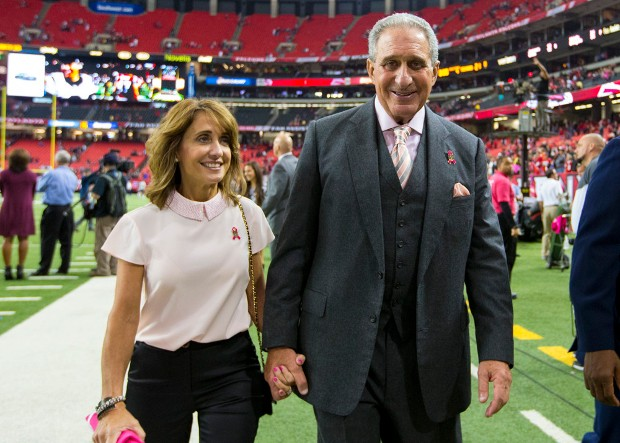 Arthur Blank With His Wife