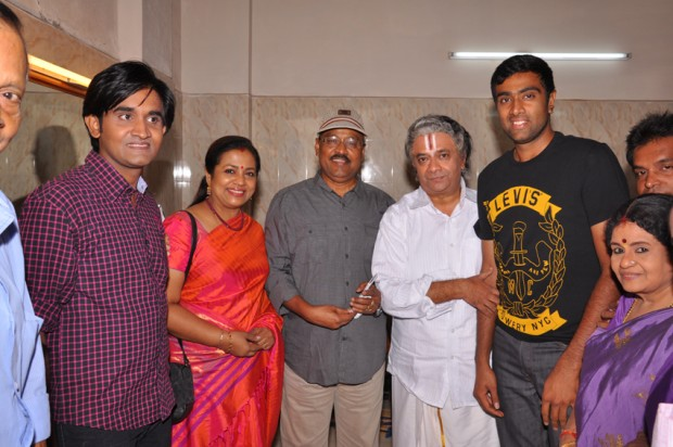 Ashwin with His Family Members