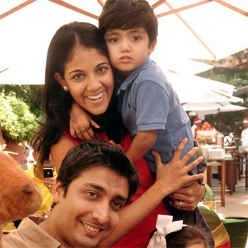 Rishad Premji with his family