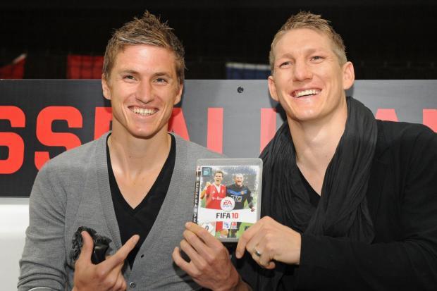 Schweinsteiger brothers Bastian and Tobias