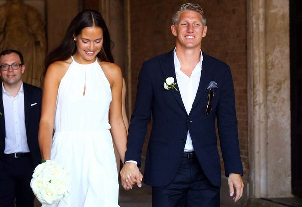 Wedding Cermony of Bastian Schweinsteiger and  Ana Ivanovic