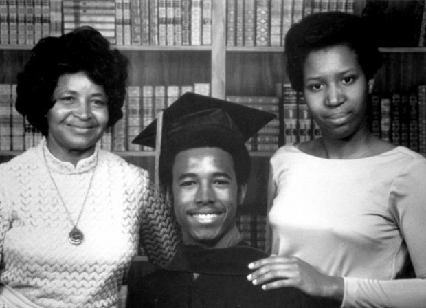 Ben Carson with mom Sonya and wife Candy