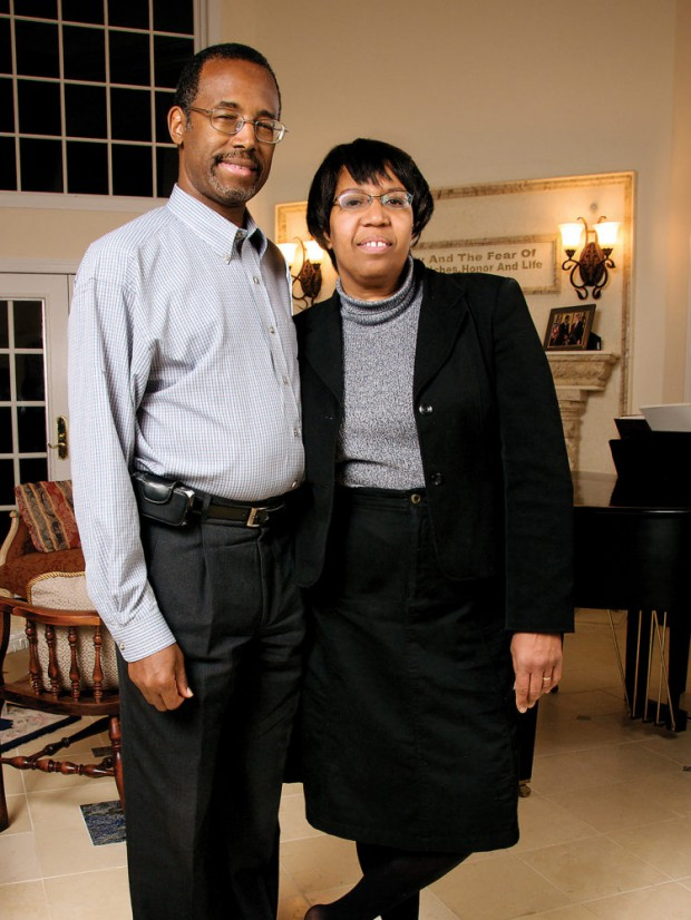 Ben Carson and his wife Candy Carson