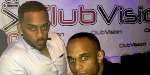Richard Blackwood and his brother Marcus Blackwood
