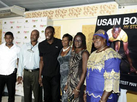 Usain Bolt family members