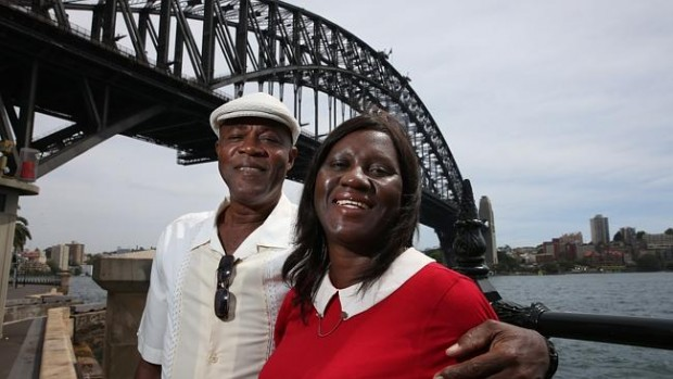Usain Bolt's parents Wellesley and Jennifer Bolt