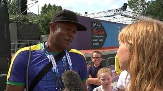 Usain Bolt's father Wellesley Bolt