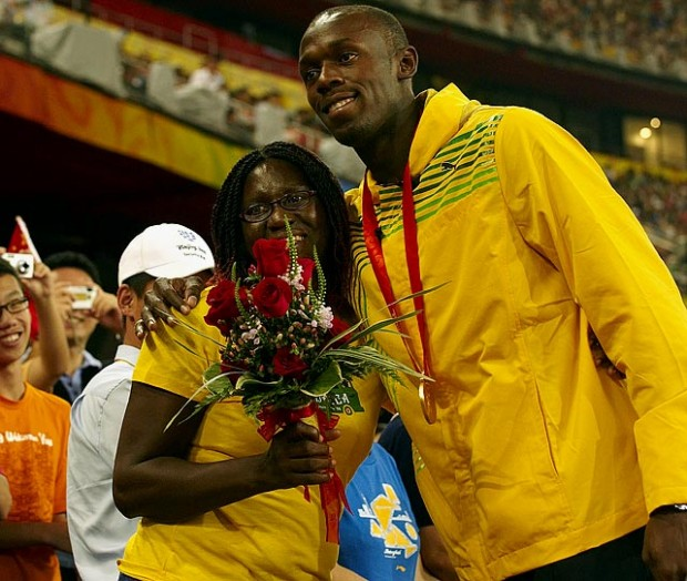 Bolt with his mom